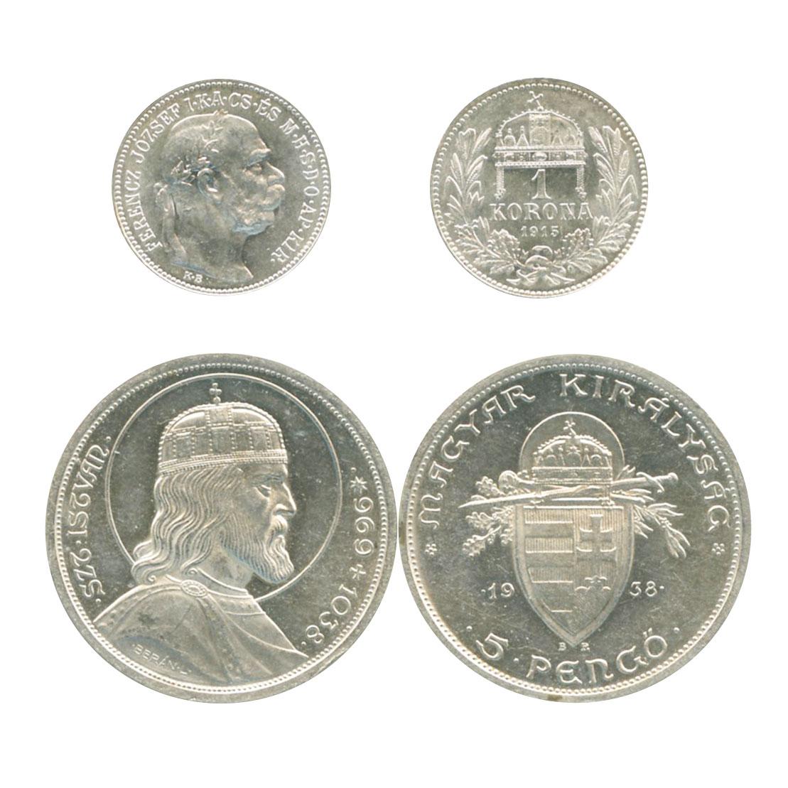 ハンガリー 50, 100, 200 フォリ...