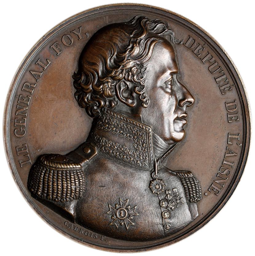 フランス メダル 1825年 銅メダ...