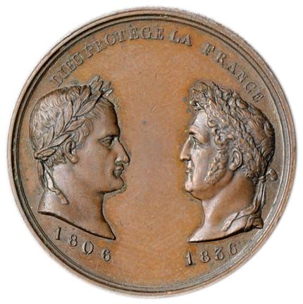 フランス メダル 1836年 銅メダ...